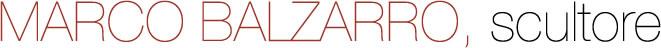 Marco Balzarro scultore Logo